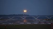 Airplane Landing Reagan Nation...