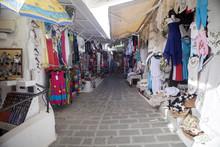 LINDOS, RODES, GEECE  JUNE 7.2013 Souvenir Shops, June 7. 2013, Lindos, Rhodes, Greece