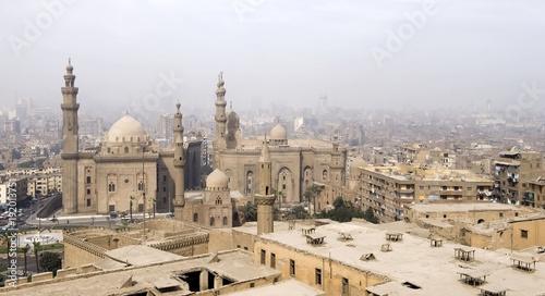Staande foto Afrika Sultan Hassan Moschee und Rifa ¥i-Moschee, Kairo
