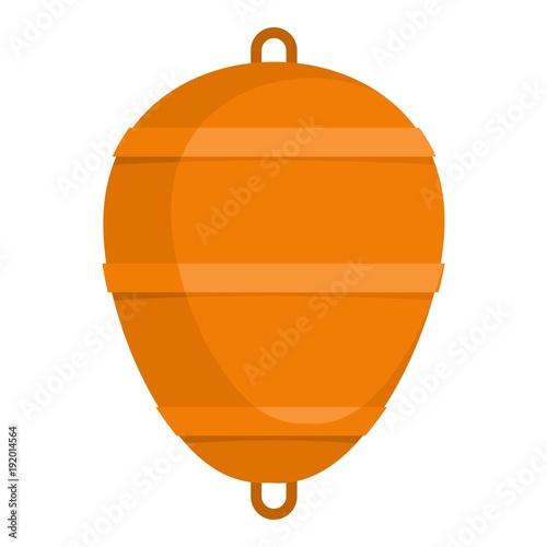 Fotografie, Obraz  Bobber icon. Flat illustration of bobber vector icon for web