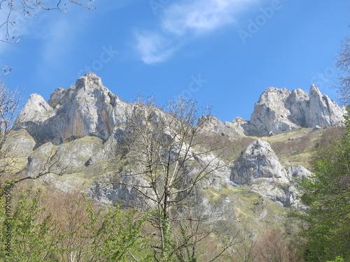 Foto auf Gartenposter Gebirge Ciel de montagne