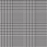 Glen Plaid Vector Pattern in Black and White Checks. Classic Houndstooth Seamless Textile Print. Trendy High Fashion. Traditional Scottish Fabric Background. Pixel Perfect Tile Swatch Included. - 192021383