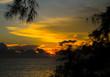 Sunset on the sea Thailand