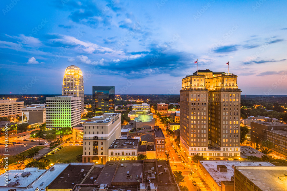 Fototapety, obrazy: Winston-Salem, North Carolina, USA