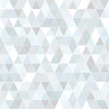 Seamless Diamond Pattern In Light Greys