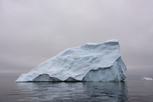 Iceberg In Antarctic Sea