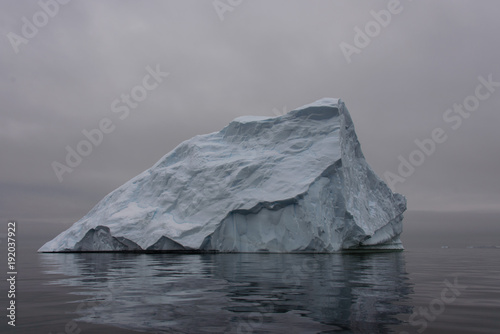 Foto op Canvas Antarctica Iceberg in Antarctic sea