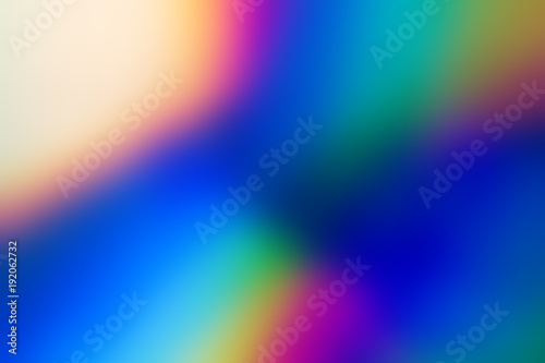 Fotografia  Spectrum abstract vaporwave holographic background, trendy colorful backdrop in pastel neon color