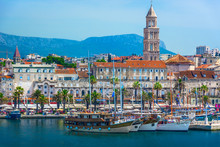 Split Croatia Coastal View. / ...