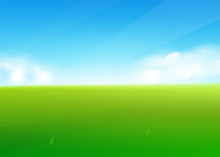 Spring Field Nature Background...