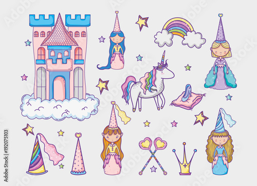 Poster Pony Magic world elements