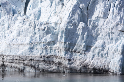 Fotobehang Gletsjers Alaska's Glacier Close View