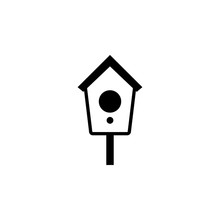 Birdhouse Icon. Element Of Pet...