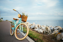 Bicycle By The Beach
