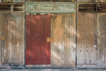 A Lot Of Old Wooden Doors And Old Wooden Windows