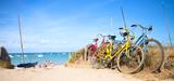 Fototapeta See - Vélo sur le littoral Français