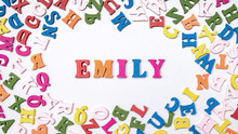 Baby Name EMILY Composed Of Wo...