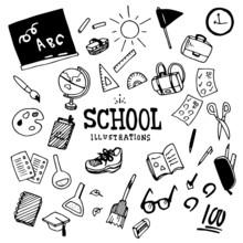 School Illustration Pack