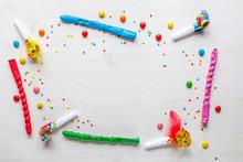 Celebration Concept With Confetti