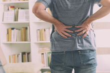 Man Suffering From Low Back Pain