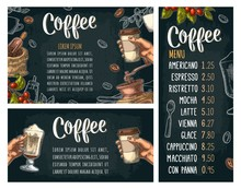Template Poster With Hand Holding Disposable Cup Coffee