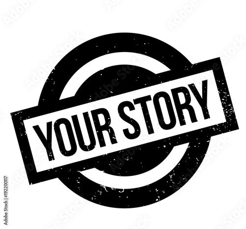 Photo Your Story rubber stamp