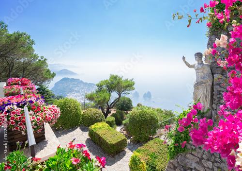 Foto auf Leinwand Zentral-Europa Capri island, Italy