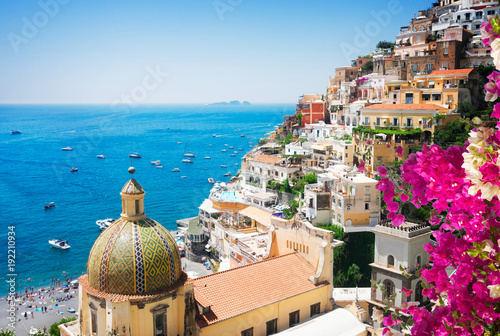 Canvas Prints Napels Positano resort, Italy
