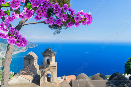 Ravello village, Amalfi coast of Italy