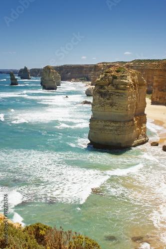 Fotografía  Landscape along the Great Ocean Road, Port Campbell National Park, Victoria, Aus