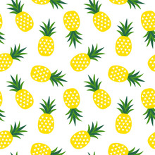 Yellow Pineapple With Triangle...