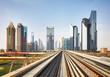 Dubai modern downtown, United Arab Emirates.