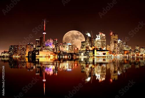 Papiers peints Toronto Full Moon Toronto