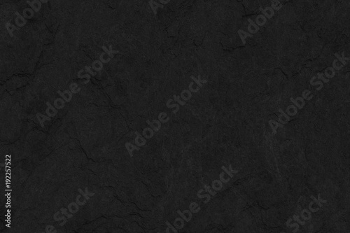 Fotografie, Obraz  Stone black slate background texture, luxury blank for design