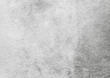 Silver, White Velvet Background Or Grey Velour Flannel Texture Made Of Cotton Or Wool With Soft Fluffy Velvety Satin Fabric Cloth Metallic Color Material