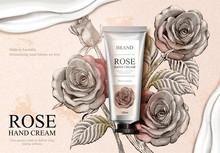 Rose Hand Cream Ads