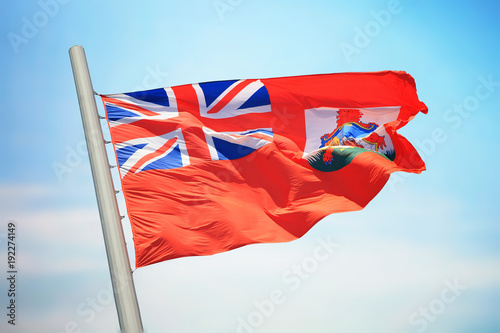 Bermuda flag Canvas Print