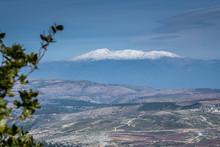 View Of Mount Hermon From Moun...