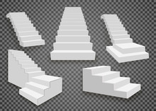 White Stairs, 3d Staircases. S...