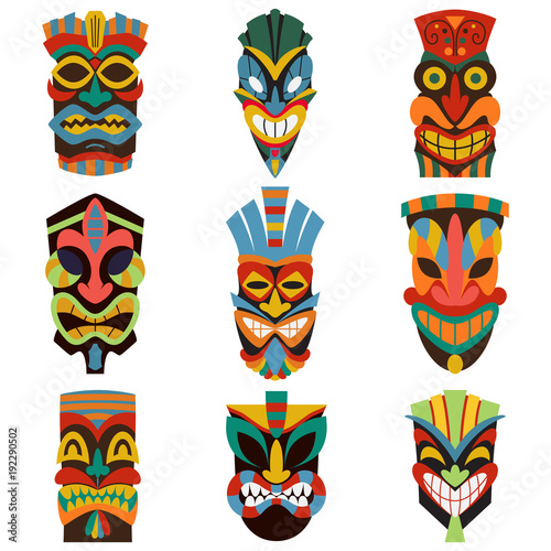 Image result for tiki mask