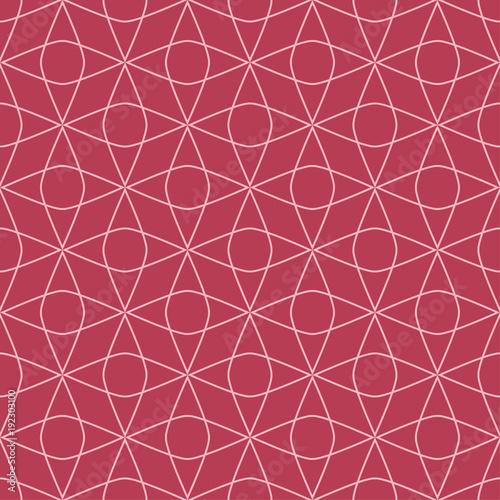 czerwony-i-jasnorozowy-ornament-geometryczny-wzor
