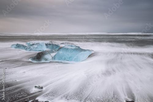 Printed kitchen splashbacks Glaciers Florian Gurtner   Gletscher und Eis, Island