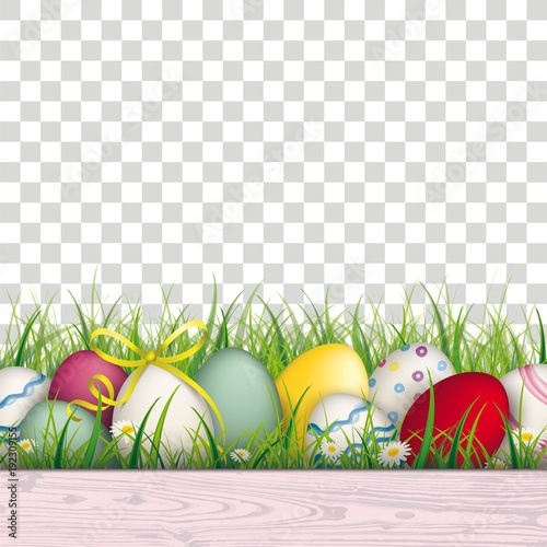 Grass Transparent Background For Colored Easter Eggs Grass Transparent Background Buy This Stock