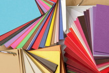 Sample Of Colorful Paper