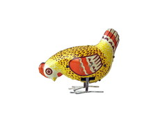 Vintage Mechanical Toy Chicke...