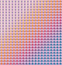 Ultraviolet Pattern On Colorfu...
