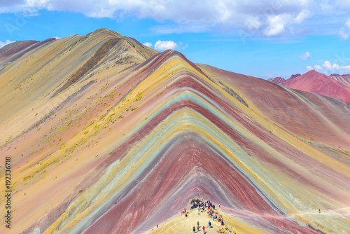 Rainbow Mountain, near Cusco, Peru Wallpaper Mural