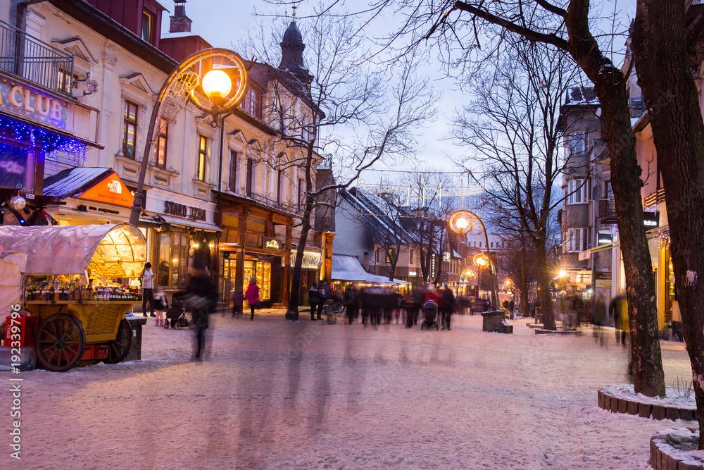Fototapety, obrazy: Town  ZAKOPANE  TATRY  POLAND