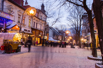 Town ZAKOPANE TATRY POLAND