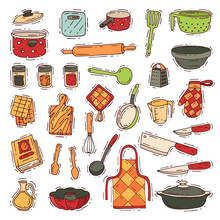 Kitchenware Vector Cookware Fo...